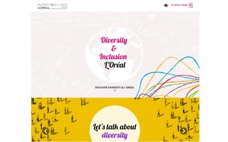 Site internet L'OREAL