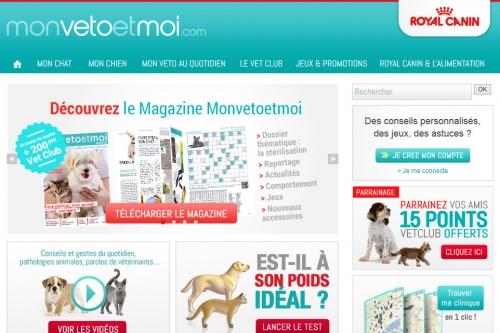"""Plateforme """"Mon Veto Et Moi"""""""